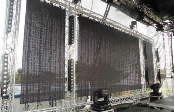 Гибкий LED экран